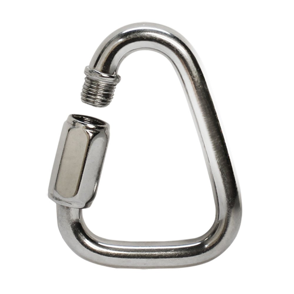 5 Pc 3/16'' Marine Stainless Steel 316 Triangle Quick Link Shackle Rig Boating