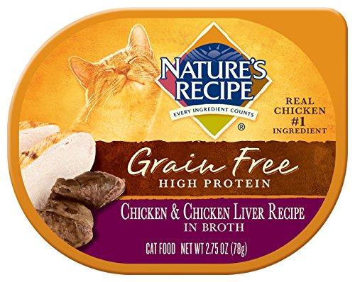 Amazon natures recipe grain free wet cat food chicken amazon natures recipe grain free wet cat food chicken chicken liver recipe in broth 275 oz pack of 24 pet supplies forumfinder Gallery