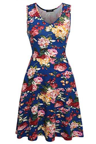 Buy below knee dresses - 7