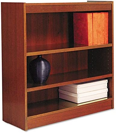 ALEBCS33636MC – Best Square Corner Wood Veneer Bookcase