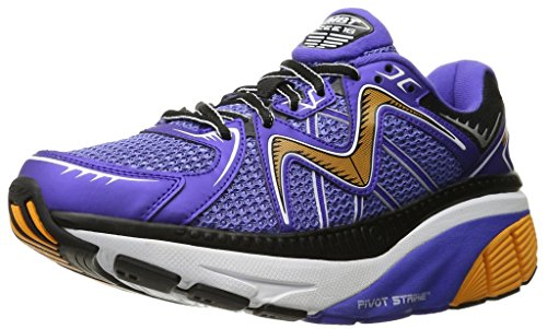 MBT Zee 16 M, Scarpe da Running Uomo Blu/Arancione/Nero (Steelblue/Orange/Black)