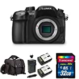 Panasonic LUMIX DMC-GH4KBODY DSLM Mirrorless 4K Cinematic Camera (Body Only) w/  Accessories