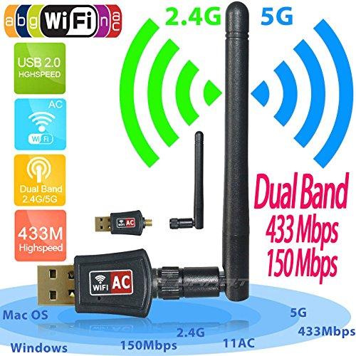 wifi adapter ac600 dual band