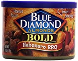 Blue Diamond Almonds, Bold Habanero BBQ, 6 Ounce