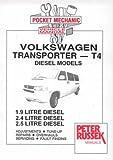 Volkswagen Transporter T4, 1.9, 2.4 and 2.5 Litre Diesel Models from 1996