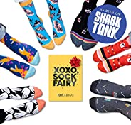 Fun Sock Subscription Box by Foot Cardigan - As Seen on Shark Tank - Sock of the Month Club Includes 1 Pair of