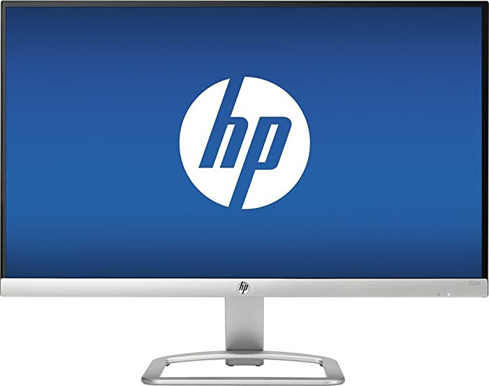 HP - 22es 21.5 IPS 1920 x 1080 LED HD Monitor - Natural silver