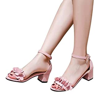 225741203c21d Zapatos de tacón mujer ❤ Amlaiworld Sandalias de tacón alto para mujer  primavera verano Sandalias ...