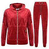 A2Z 4 Kids Kids Tracksuit Boys Girls Designer's A2Z NY Deluxe Edition 001 - Maroon - 11-12 Years