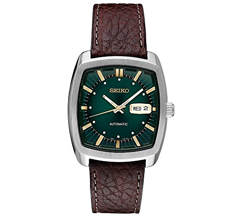 Seiko-Mens-Solar-Recraft-Stainless-Steel-Leather-Strap-Watch