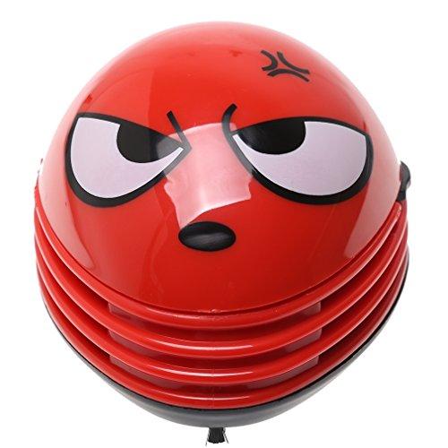 A-szcxtop Electric Desktop Vacuum Cleaner Mini Dust Cleaner anger Douding