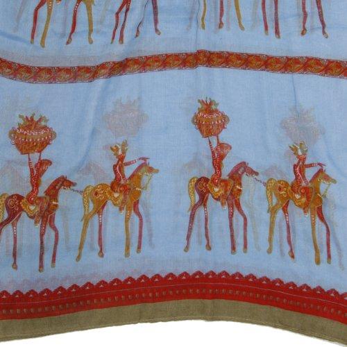 Bucasi-Equestrian-Horse-Print-Scarf