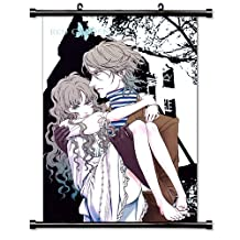 Red Garden Anime Fabric Wall Scroll Poster (32 x 46) Inches[TJ]-Red-14 (L)