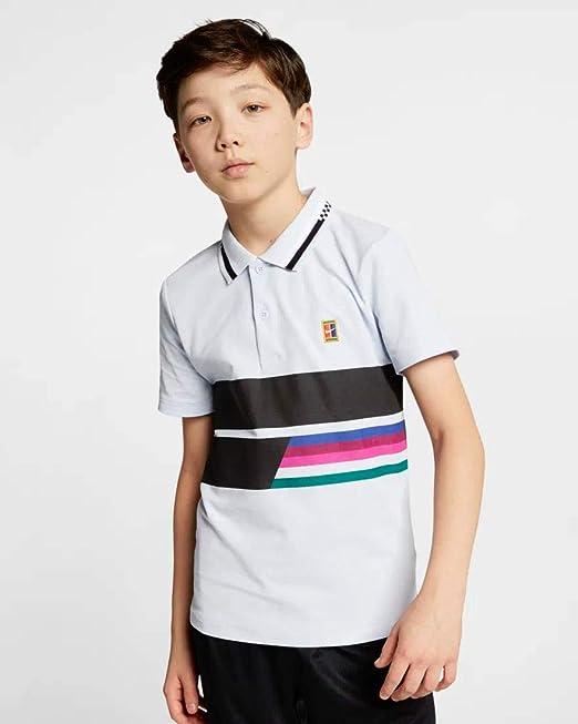 Nike RF B Nkct ADV Classic - Polo Shirt de Tenis Niños: Amazon.es ...