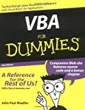 VBA for Dummies, John Paul Mueller, 0764539892