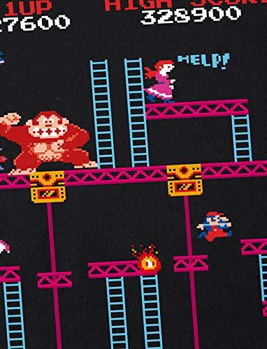 Hormiga Elevator mujer camiseta Kong Geek Level Nes Switch de Donkey FrX5Fwq7x