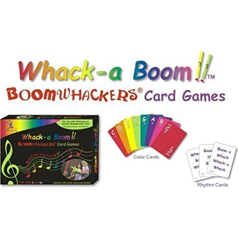 Rhythm Band Whack-A-Boom Card Game by Rhythm Band: Amazon.es ...