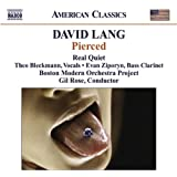 David Lang: Pierced (American Classics)