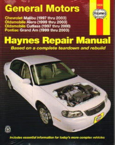 2001 pontiac grand am repair manual