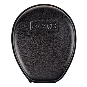 Cosmos ® PU Leather Protection Carrying Box for LG Electronics Tone LG HBS730 / HBS-750 / HBS-760 / HBS-800 Stereo Wireless Bluetooth Headset – Black