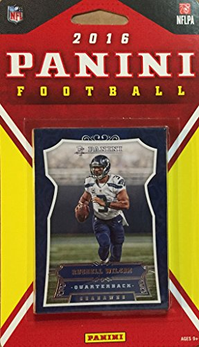 (Seattle Seahawks 2016 Panini Factory Sealed Team Set with Russell Wilson, Marshawn Lynch, Richard Sherman, Earl Thomas, 5 Rookies plus)
