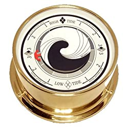 Downeaster Wave Tide Clock Medallion