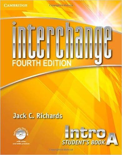 interchange intro 4th edition