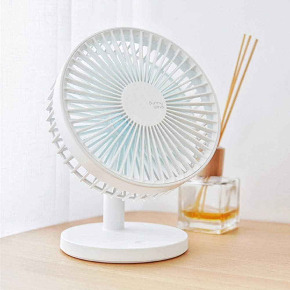 FAHGV Power Fan Mini Fan USB Ventilator Portable Desk Fan USB Charging Device Cooler Fan Third Gear Wind for Home//Office