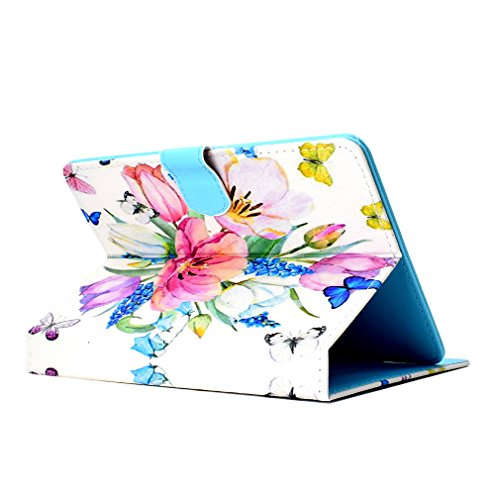 Life 29 Case Foldable Bookstyle 8 Tree Slot Color LMFULM® Magnetic Case Inch General for of Card PU Purpose Closure 8 Ultra for Stand Tablet Case Thin Pad Pattern Inch Leather OIqwnCgZHI