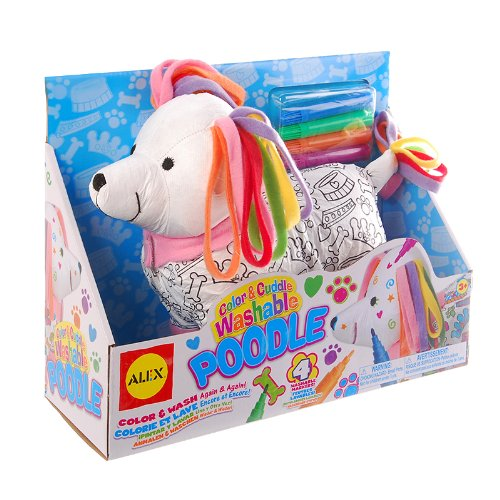 Cheap ALEX Toys Craft Color and Cuddle Washable Poodle supplier