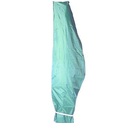 Schutzhülle für Ampelschirm Sonnenschirm Schirm Schutzhaube Hülle Schwarz Ø 3m