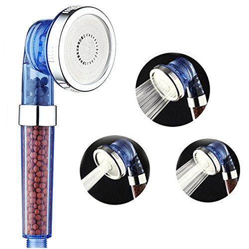 con ventosa a presa forte cromato Supporto per doccetta universale EcoSpa Simple Locking montaggio senza necessit/à di forature o colla