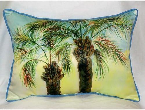 Betsy Drake HJ385 Betsys Palms Art Only Pillow 15×22