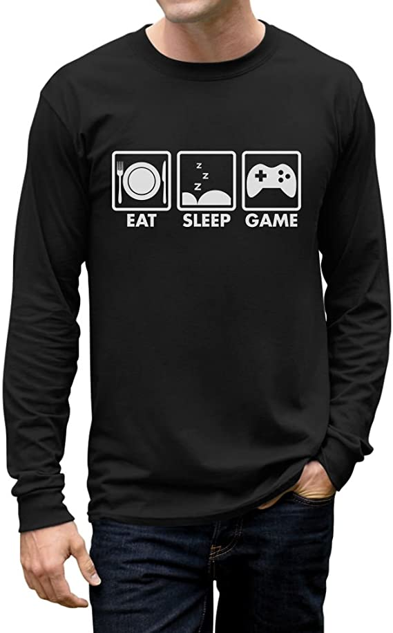 Apparel Gift Funny Eat Sleep Football Sweatshirt Tank Top Hoodie T-Shirt Long Sleeve