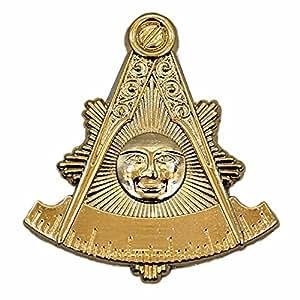 Masonic Past Master Quadrant 2.5cm Lapel Pin - Bricks Masons