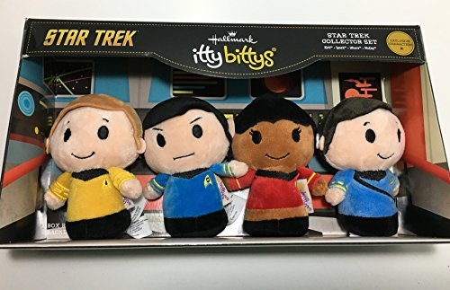 Hallmark itty bittys Star Trek 50th Anniversary Collector Set (Bear Bitty Itty)