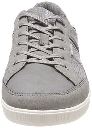 Jack amp; Mix Gray Gris Grey Homme Frost Sneakers Basses Jones Mesh Jfwrayne Frost rrIdqT