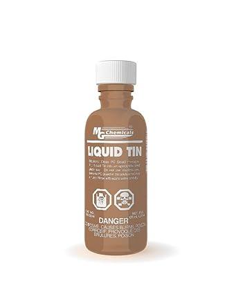 MG Chemicals Liquid Tin, 125 ml Bottle