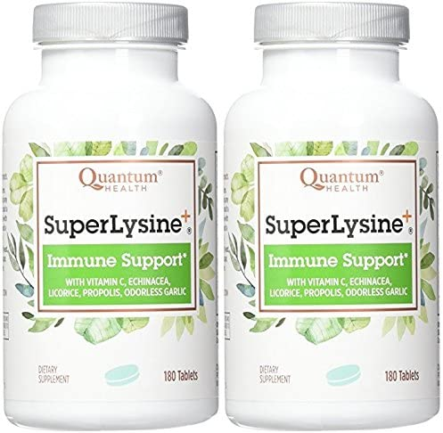 Quantum Super Lysine, 180 Count 2 Pack