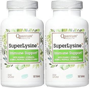 Quantum Super Lysine, 180 Count 2 Pack