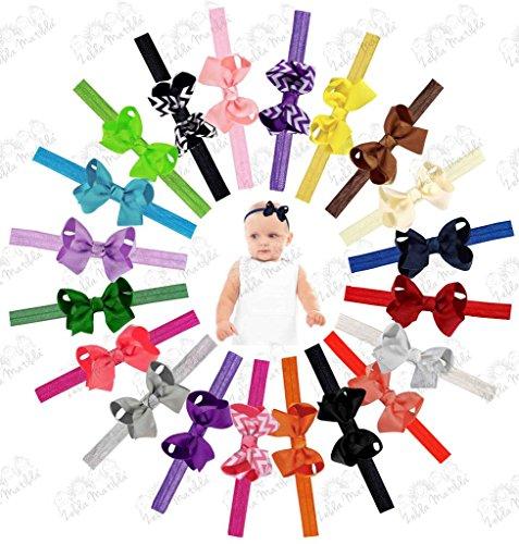 Interchangeable Newborn Headbands ZELDA MATILDA product image