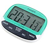 CJHFAMILY Indoor 24-Hour Digital Electronic Kitchen Home Cook Classroom Countdown and Count Up Timer / Clock with Magnet