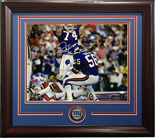 Lawrence Taylor Autographed Signed 16x20 Sb Safety Photo Framed Giants Coin Auto Hof JSA Coa (Sb Taylor Autographed)