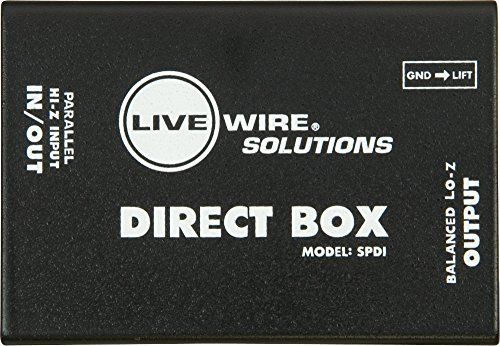 Livewire SPDI Passive Direct Box with Attenuation Pad by Live Wire (Image #2)