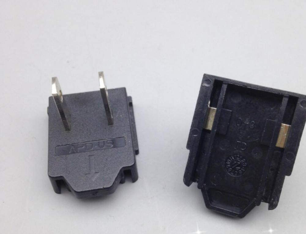 Cable Length US Plug ShineBear 2PCS//lot APD US Plug Switch Connector Adapter for APD Power Supply US EU Plug Available