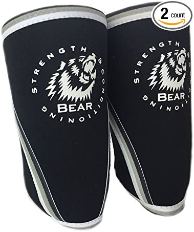 Bear Elbow Sleeve 5mm High Strength Neoprene