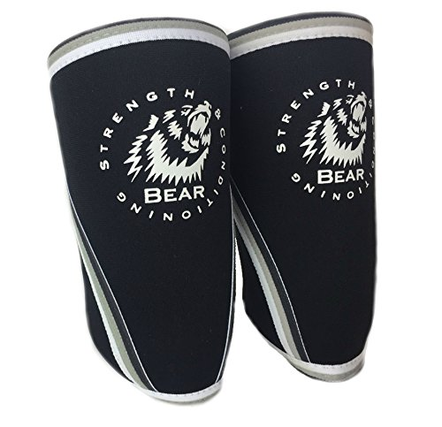 BEAR Strength Neoprene Weightlifting Powerlifting