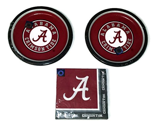 Alabama Crimson Tide Party Bundle 9