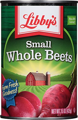 Libby's Small Whole Beets, 15-Ounce Cans (Pack of 12)