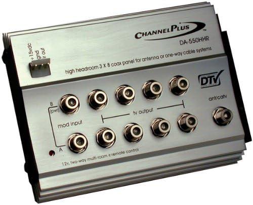 Canal Plus da-550hhr HDTV Panel de distribución para Antena ...